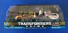 Transformers Prime  2011 NYCC Comic Con FIRST EDITION Bumblebee Arcee Jack Raf
