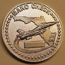 93rd Fighter Squadron Makos F-16 Air Force Challenge Coin