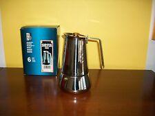 CAFFETTIERA SIESTA ORO  BERGNA GUIDO INOX  TAZZE 6