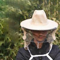 Beekeeper Beekeeping Cowboy Mesh Hat Anti Bee Insect Net Veil Face Head Guard