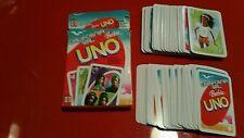 Genuine UNO Play card game Barbie California Girl USED