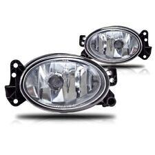For Mercedes Benz W211 E320 R320 G55 GL450 Clear Lens Chrome Housing Fog Lights