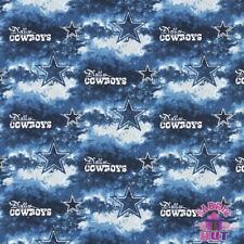NFL Blue Dallas Cowboys 100% Cotton Fabric 6352 D