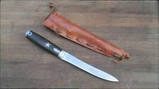Antique GOODELL Antrim, NH Texas Star Rifleman's Hunting Boot Knife w/Sheath