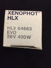 OSRAM EVD 64663 HLX 400w 36v G6.35 Halogen light Bulb SHIPS TODAY FROM FL