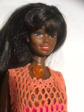 Vintage/MOD 1980s Twist n Turn Christie African American Barbie Doll