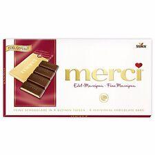 3 x Merci - Bar of Chocolate (Fine Marzipan / Edel-Marzipan) 336g / 0.74lbs