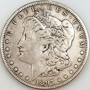 1897 O Morgan Silver Dollar! Only 4,004,000 minted! NO RESERVE!
