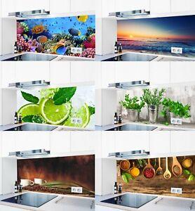 Küchenrückwand DIY 1000 Motive AluVerbund  Spritzschutz Badrückwand