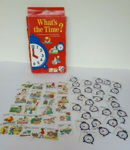 What's the Time? memory and learning to tell the time game