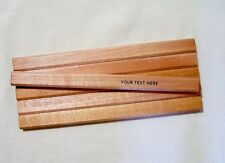 "6 ""Natural Finish""  Personalized Carpenter Pencils"