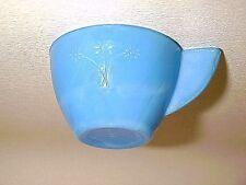 Rare Blue Daisy Akro Agate Child Tea Set Cup / 6 Available