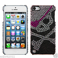 Apple iPod Touch 5 DIAMOND CASE HARD BACK COVER ACCESSORY SKULL