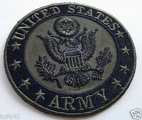 UNITED STATES ARMY  SUBDUED Military Veteran Biker Patch PM0895 EE