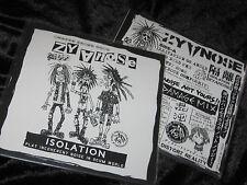 """ZYANOSE Isolation 7"""" EP japanese noise punk/crasher crust confuse gloom d-clone"""