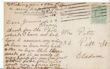 Genealogy Postcard - Family History - Pitts - Oldham  BH4481