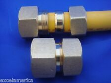 """1/2""""  FEMALE NPT fitting for 1/2""""  for gasFlex flexible gas piping (1 unit)"""