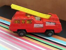 Matchbox Superfast Fire Engine Blaze Buster No.22 - Red - 1:64 Scale Die-cast