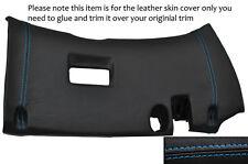 BLUE STITCH LOWER DASH PANEL TRIM LEATHER COVER FITS TOYOTA SUPRA MK4 93-02
