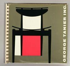 Finn Juhl for Bovirke rare George Tanier trade catalogue Danish Modern