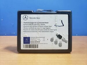 Merceds C-Class Models 2005 To 2020 Heyner Germany Stil Block PRO Locking Wheel Nuts Removal Key 14x1.5x28 385//5