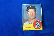 1963 TOPPS PITTSBURGH PIRATES TOM STURDIVANT # 281