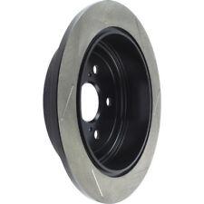 Disc Brake Rotor-Sport Slotted Brake Disc Rear Right Stoptech 126.44166SR