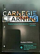 Carnegie Learning Middle School Math Solution Course 1