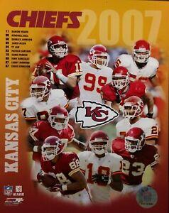 2007 KANSAS CITY CHIEFS Team Composite 8x10 Photo