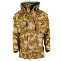 Genuine British army combat jacket desert camo MVP goretex waterproof rain NEW