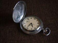 18 Jewels Ussr Vintage Pocket Watch Molnija