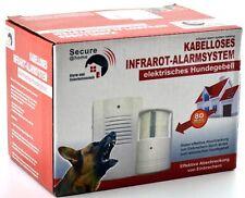 Infrarot Alarmsystem Hundegebell elektronischer Wachhund Alarmanlage 80 m Alarm