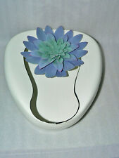 Vintage  Enamelware Bed Pan Adult Size EXCELLENT Planter Succulents Hospital