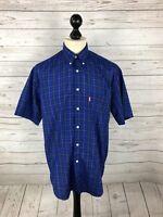 LEVI'S Vintage Shirt - Size Medium - Short Sleeved  - Great Condition - Men's