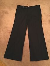 Juicy Couture women's black wool trouser pants work size 6