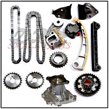 Engine Timing Chain Kit & Water Pump Chevy Tracker Suzuki J18 J20 1.8L 2.0L 2.3L