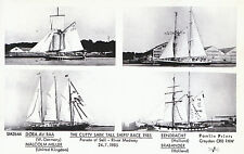 Shipping Postcard - The Cutty Sark Tall Ships' Race 1985 - River Medway  A5277