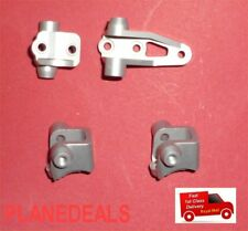 CNC Aluminium SILVER Front&Rear Lower Link Shock Mounts For Traxxas Trx-4 A13