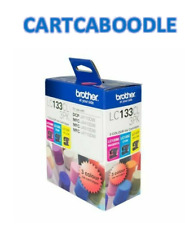 GENUINE Brother LC133CL3PK - 3 Colour Inks - C/M/Y -  LC-133CL3PK