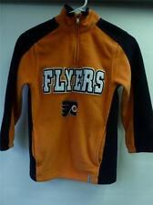 boys yth Small 8 NHL Reebok Philadelphia Flyers Hockey fleece sweatshirt Jacket
