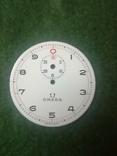 Original Enamel Omega Pocket Watch Dial.