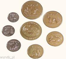 TUVA Republic 2015 set of 7 coins