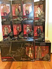 Star Wars Black Series Solo Lot Han Lando Qi?ra Beckett Val Dryden Rio Enfys etc