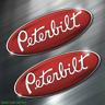 (2) TWO PETERBILT Vinyl Decal Sticker For Car Laptop Skateboard NEW TRUCK USA