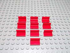 Lego 10 Panele Paneele rot 1x2x1  4865 Set 6693 6426 8144 8157
