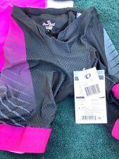 Pearl Izumi Women's triathlon kit including racing shorts; size L & racing singl