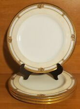 """Noritake CHAVOT GOLD Salad plate set(s) of 4, 8 1/2"""", 4769, Gold, Excellent"""