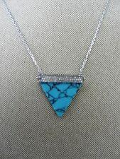 Michael Kors Triangle Pendant Necklace MSRP $165