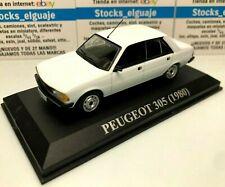 IXO ALTAYA 1/43 DIECAST PEUGEOT 305 1980 WHITE NQC VOITURE MINIATURE MODEL CAR