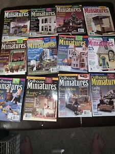 Dollhouse Miniatures complete year 2002 some covers damaged Great Deal